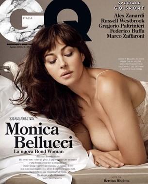 copertina gq monica bellucci