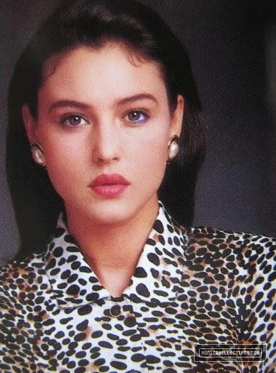 Monica-Bellucci-giovanissima