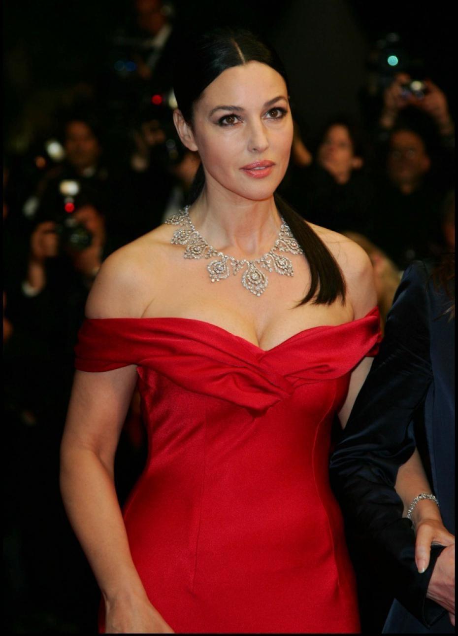 Monica Bellucci vestito rosso