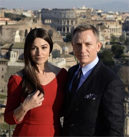 Monica Bellucci e Daniel Craig 007 Spectre