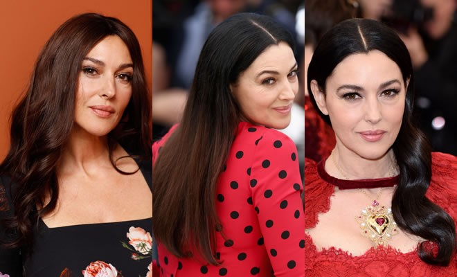 Monica Bellucci look diversi